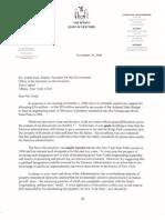 November 19, 2008 - Senator Flanagan Supports Study at Nissequogue River State Park