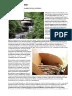 La Casa de La Cascada - Arquitectura Organica