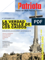 El Patriota n 01 - Noviembre 2011