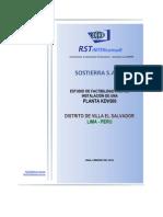 Estudio Factibilidad 2011 KDV500
