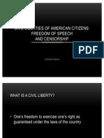 Civil Liberties of American Citizens