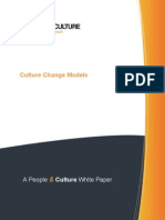 Changing Organisational Cultures