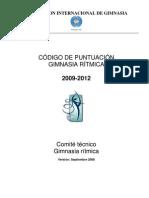 RG CoP 2009-2012-esp