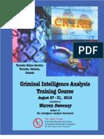 Criminal Intelligence Analysis Training[1]