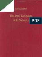 Campbell the Pipil Language of El Salvador