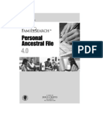 Manual Paf4pt