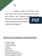 Economic Environment 1 Ppt Copy