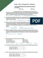 Examen 1ºMat - 23-feb - 1ªeval - Recuperación - Soluciones