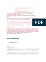 JD Group Verslag