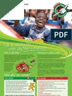 Operation Christmas Child Leaflets