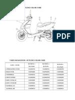 Pgo Trex125&150 Part Cataloge