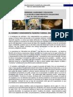 96. MODERNIDAD, ILUMINISMO, EDUCACION Y ESCUELA