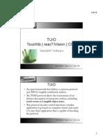 ccv,touchlib,reactivision,tuio