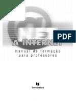 Internet - Manual de Formação para Professores (Texto Editor)