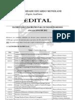 editalmatriculas2012