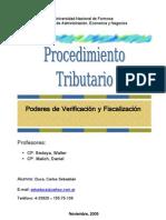 VERIFICACION Y FISCALIZ