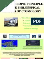 cal Aspects of Cosmlogy I