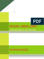OHSAS 18001_2007 - Treinamento