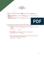 1- Chemistry Review KEY