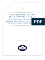 White House - Privacy in a Networked World