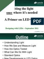 1. a Primer on LED Optics