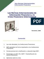 Efecto de Las NIIF en La Crisis Financier A Internacional