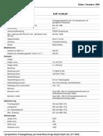 Techn.Datenblatt Varadero