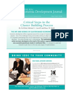 Cluster Building Process