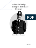 Análise do Código Deontológico do Serviço Policial