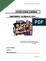 LOS NÚMEROS DE 3 CIFRAS -MATEMÁTICAS 3º PRIMARIA