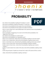 Probability X