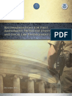First Amendment Guidance
