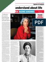 Nadine Gordimer - Interview on 12-02-22