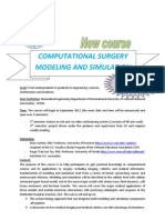 Computational Surgery Course Advertisement Sep-2011[1]