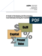 A Guide to Developing and Documenting Cost Estimates During the Feasibility Study 2000