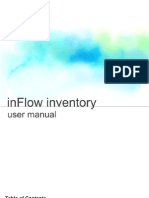 InFlow User Manual