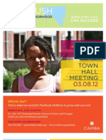Flatbush Promise Neighborhood Town Hall Meeting