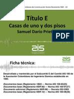 TITULO E NSR-10