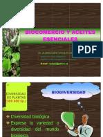Biocomercio y Aceites Esenciales