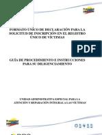 Cartilla de Diligenciamiento FUD Paso a Paso Version 03