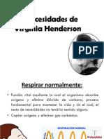 14 necesidades de  Virginia Henderson