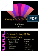 Radiography of the GI System