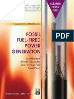 Fossil Fuel Fired Power Plant