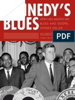 Kennedy's Blues - African-American Blues and Gospel Songs on JFK American Made Music