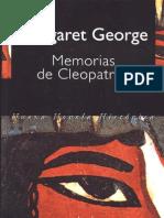 Margaret - Memorias de Cleopatra I