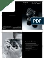 Fujifilm X-Pro1 Brochure