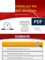 Panorama Clauses Abusives