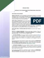 Chairman Letter 2012