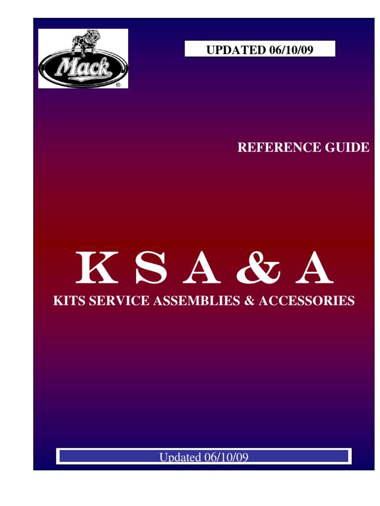 Mack Kits Service & emblies 2009 Mack E Wiring Harness on