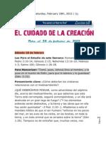 Leccion 08 Escuela Sabatica 25 de Febrero 2012